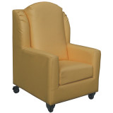 SC411-Swansea-Sgl-Lounge-Yellow-frt