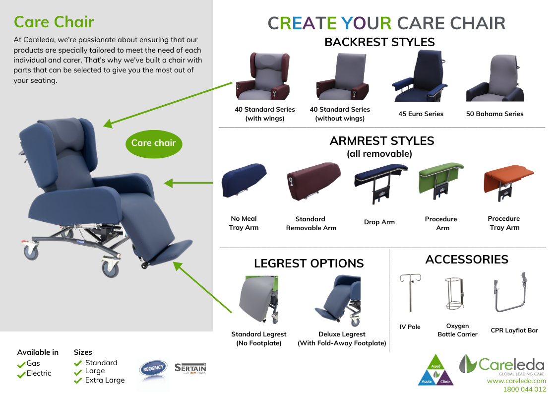 Create Your Own Care Chair