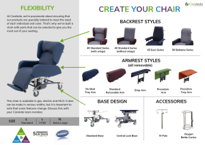 Create Your Chair - Sertain S4500 Series HILO Seating