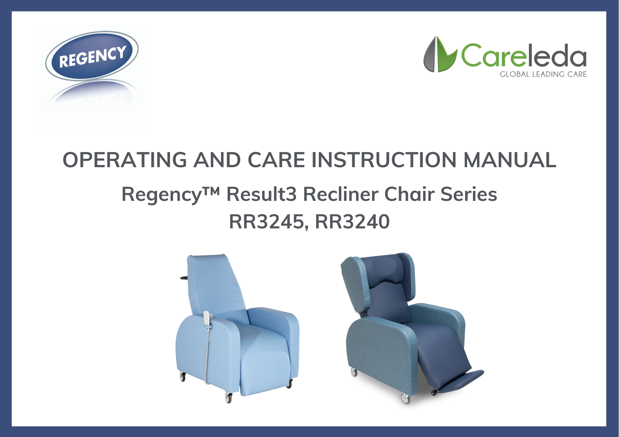 Operating and Care Instruction Manual R3940(5)